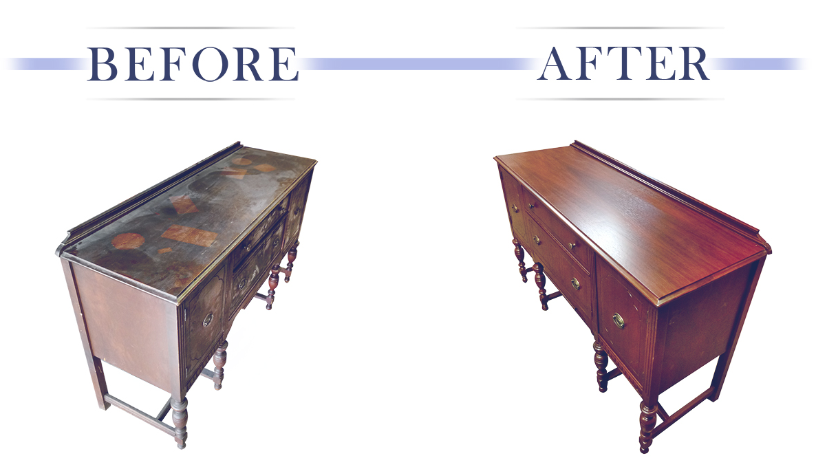 Wood Furniture Refinishing